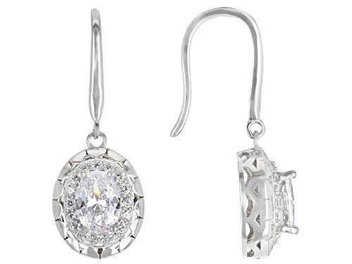 Photo of Bella Luce ® 2.50ctw Rhodium Over Sterling Silver Earrings (1.84ctw DEW)