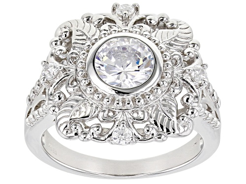 Photo of Bella Luce ® 2.54ctw Rhodium Over Sterling Silver Ring (1.40ctw DEW) - Size 10