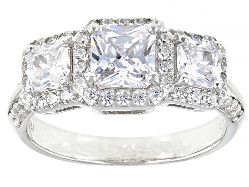 Photo of Bella Luce ® 3.40ctw Rhodium Over Sterling Silver Ring (2.31ctw DEW) - Size 11