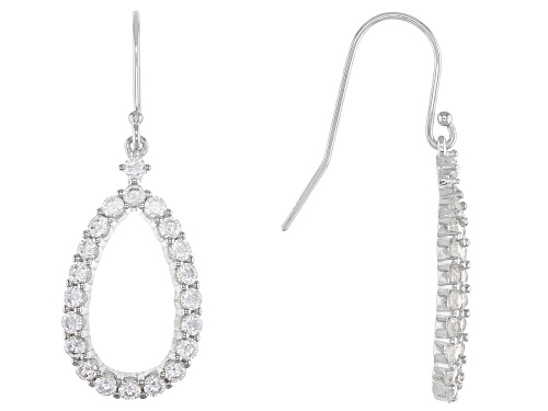 Photo of Bella Luce® 2.48ctw Rhodium Over Sterling Silver Dangle Earrings (1.26ctw DEW)