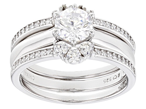 Photo of Bella Luce ® 1.99ctw Rhodium Over Sterling Silver Ring With Bands (1.26ctw DEW) - Size 10