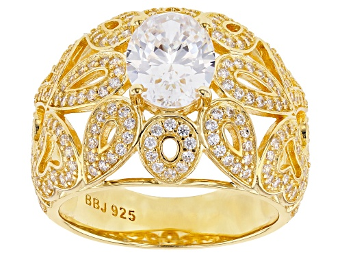 Photo of Bella Luce ® 4.59ctw Eterno ™ Yellow Ring (2.90ctw DEW) - Size 7