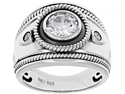 Photo of Bella Luce ® 2.16ctw Rhodium Over Sterling Silver Ring (1.40ctw DEW) - Size 8