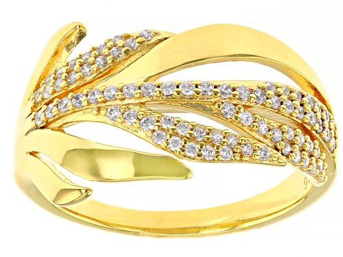 Photo of Bella Luce ® 0.55ctw Eterno™ Yellow Leaf Ring (0.25ctw DEW) - Size 6