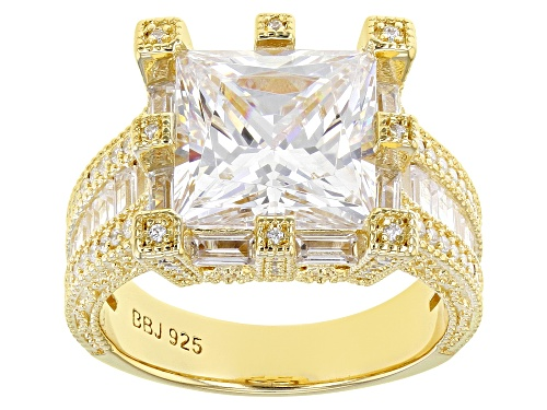 Photo of Bella Luce ® 12.00ctw Eterno ™ Yellow Ring (7.76ctw DEW) - Size 8
