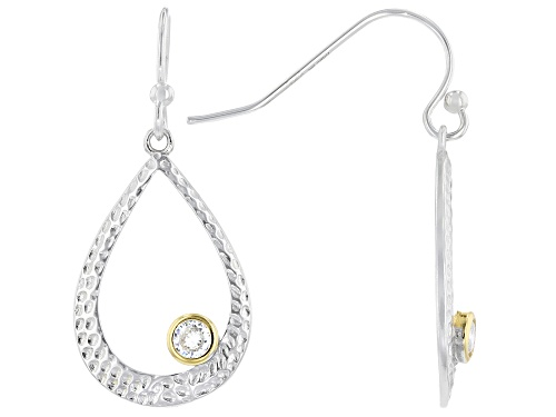 Photo of Bella Luce ® 0.36ctw Rhodium And 14K Yellow Gold Over Sterling Silver Earrings (0.22ctw DEW)