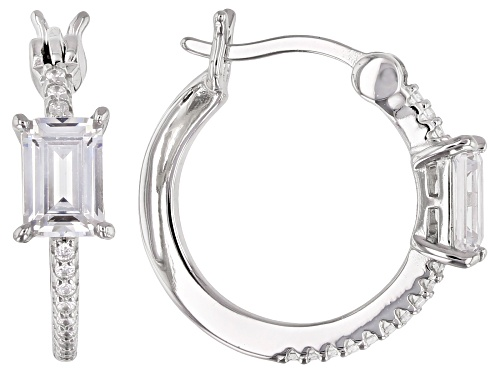 Photo of Bella Luce ® 2.17ctw Rhodium Over Sterling Silver Earrings (1.45ctw DEW)