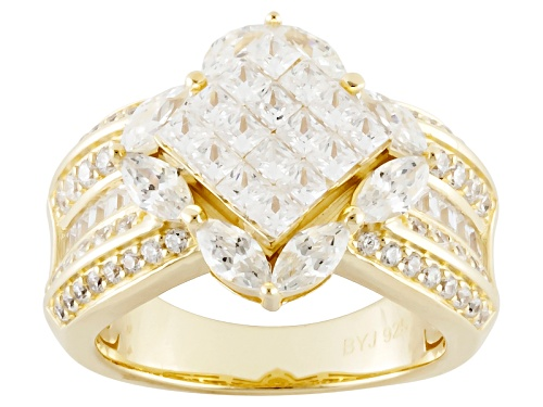 Photo of Bella Luce ® 4.28ctw Diamond Simulant Eterno ™ Yellow Ring (2.02ctw Dew) - Size 6