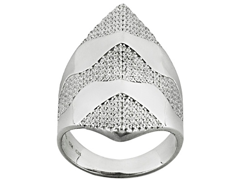 Photo of Bella Luce ® 1.60ctw Rhodium Over Sterling Silver Ring (1.00ctw Dew) - Size 7