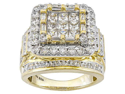 Photo of Bella Luce ® 6.12ctw Diamond Simulant Eterno ™ Yellow Ring (3.99ctw Dew) - Size 5