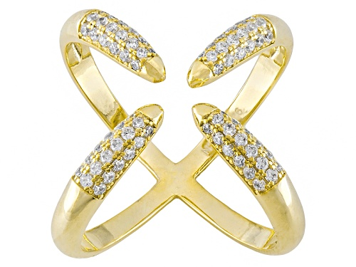 Photo of Bella Luce ® .72ctw Round Eterno ™ Yellow Ring (.36ctw Dew) - Size 5