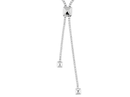 Photo of Bella Luce ® 23.81ctw Rhodium Over Sterling Silver Adjustable Necklace (10.95ctw Dew)