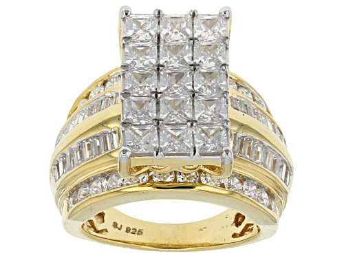 Photo of Bella Luce ® 8.29ctw Diamond Simulant Eterno ™ Yellow Ring (4.79ctw Dew) - Size 12