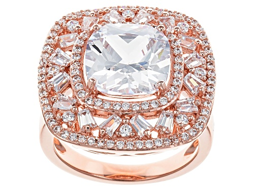 Photo of Bella Luce ® 8.91ctw Eterno ™ Rose Ring (5.11ctw Dew) - Size 5