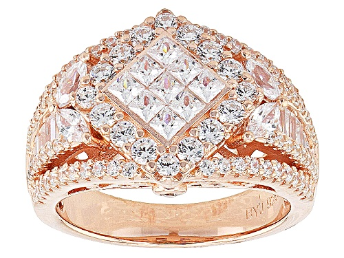 Photo of Bella Luce ® 3.28ctw Diamond Simulant Eterno ™ Rose Ring (2.08ctw Dew) - Size 9