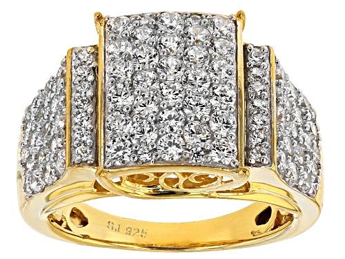 Photo of Bella Luce ® 3.95ctw Diamond Simulant Round Eterno ™ Yellow Ring (1.88ctw Dew) - Size 11