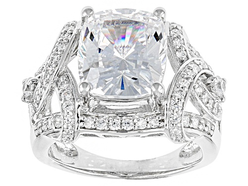 Photo of Bella Luce ® 10.24ctw Rhodium Over Sterling Silver Ring (6.72ctw Dew) - Size 10
