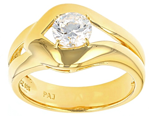 Photo of Bella Luce ® 1.35ct White Diamond Simulant Eterno ™ Yellow Ring  (.84ct Dew) - Size 11