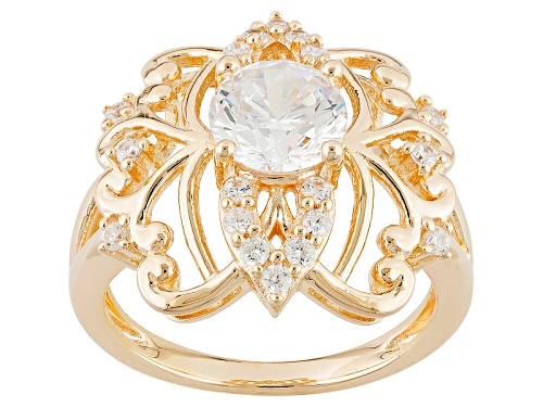 Photo of Bella Luce ® 2.63ctw White Diamond Simulant Eterno ™ Yellow Ring (1.58ctw Dew) - Size 7