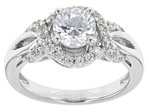 Photo of Bella Luce ® 2.34ctw Rhodium Over Sterling Silver Ring (1.42ctw Dew) - Size 10