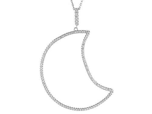Photo of Bella Luce ® 1.14ctw Rhodium Over Sterling Silver Pendant With Chain (.64ctw Dew)