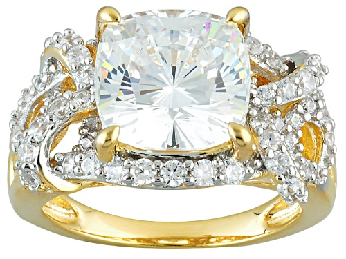 Photo of Bella Luce ® 8.62ctw Diamond Simulant Eterno ™ Yellow Ring (4.64ctw Dew) - Size 10