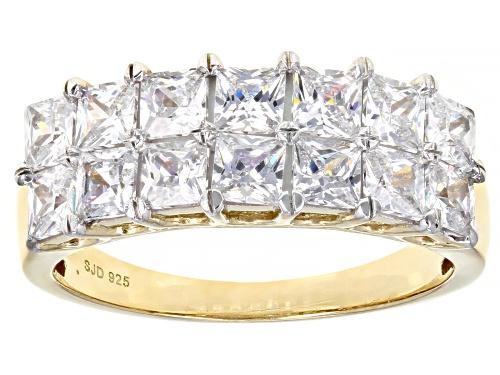 Bella Luce ® 3.50ctw White Diamond Simulant Eterno ™ Yellow Ring (2.52ctw DEW) - Size 6