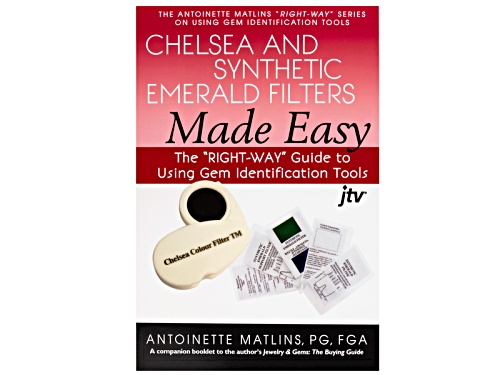 Photo of Chelsea & Synthetic Emerald Filters Made Easy Pamphlet By Antoinette Matlins