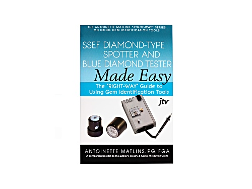 Photo of S.S.E.F. Diamond-Type Spotter & Blue Diamond Tester Made Easy Pamphlet By Antoinette Matlins