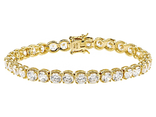 Photo of Bella Luce ® Dillenium Cut 23.76ctw Round Eterno ™ Yellow Bracelet - Size 7.25