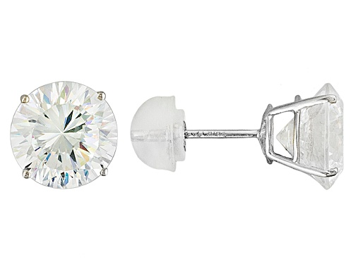 Photo of Bella Luce ® Dillenium Cut 6.92ctw, 14k White Gold Stud Earrings