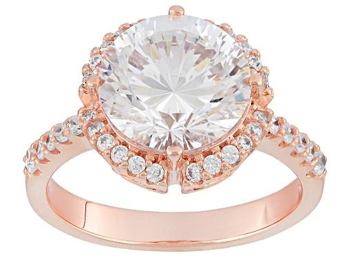 Photo of Bella Luce ® Dillenium 6.70ctw Eterno ™ Rose Ring (4.29ctw Dew) - Size 8