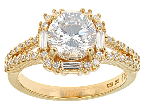 Photo of Bella Luce ® 2.66ctw Dillenium Cut Eterno ™ Yellow Ring (1.68ctw Dew) - Size 9