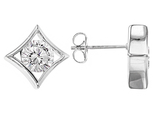 Photo of Bella Luce ® Dillenium Cut 3.34ctw Rhodium Over Sterling Silver Earrings (2.06ctw Dew)