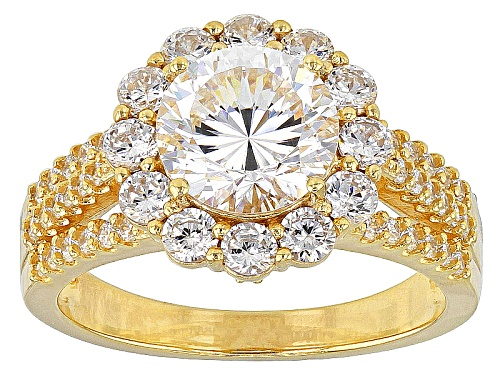 Photo of Bella Luce ® Dillenium Cut 5.09ctw Eterno ™ Yellow Ring (3.20ctw Dew) - Size 10