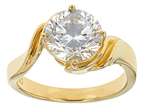 Photo of Bella Luce® Dillenium Cut 4.59ct Diamond Simulant Eterno ™ Yellow Ring (2.75ct Dew) - Size 10