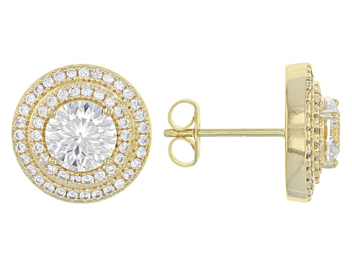 Photo of Bella Luce ® Dillenium 4.05CTW Diamond Simulant Eterno ™ Yellow Earrings