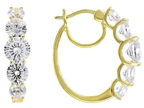 Photo of Bella Luce® Dillenium Cut 7.85ctw Eterno™ Yellow Earrings (4.52ctw)