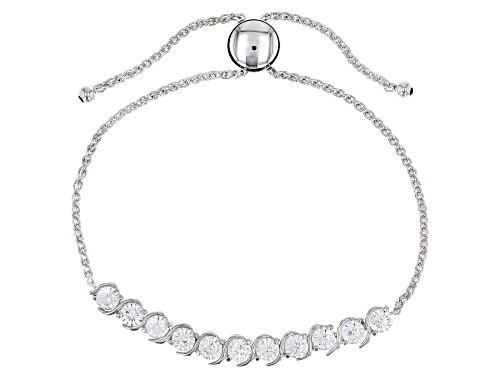 Photo of Bella Luce ® 4.05ctw Rhodium Over Sterling Silver Adjustable Bracelet (2.25ctw DEW)