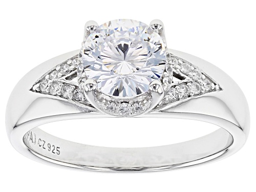Photo of Bella Luce ® 2.42ctw Dillenium Rhodium Over Sterling Silver Ring - Size 11