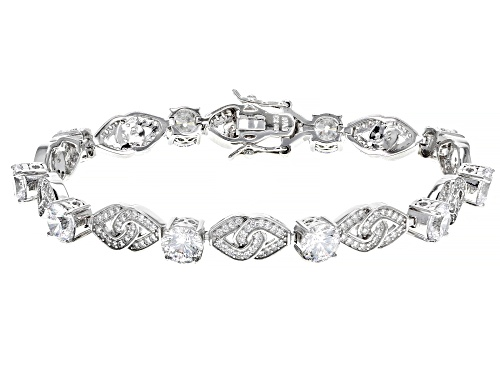 Photo of Bella Luce ® 16.00ctw Rhodium Over Sterling Silver Bracelet (9.00ctw DEW) - Size 8
