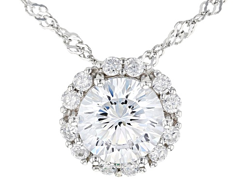 Photo of Bella Luce ® 5.29ctw Dillenium Rhodium Over Sterling Silver Pendant With Chain (3.11ctw DEW)