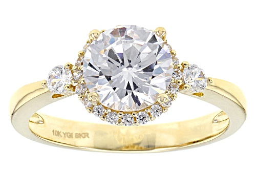 Photo of Bella Luce ® 3.24ctw 10k Yellow Gold Ring (1.89ctw Dew) - Size 12