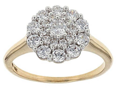 Photo of Bella Luce ® 1.80ctw White Diamond Simulant 10k Yellow Gold Ring (.89ctw Dew) - Size 9