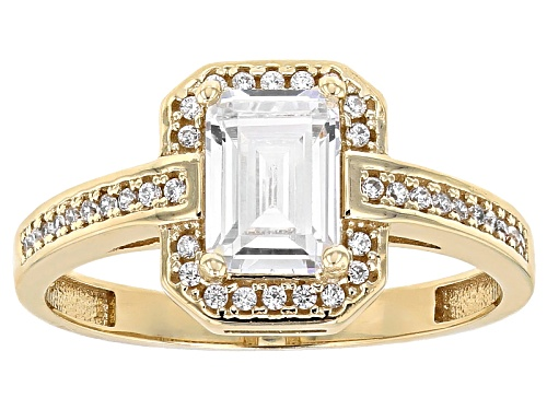 Photo of Bella Luce ® 2.13ctw 10k Yellow Gold Ring (1.24ctw Dew) - Size 11