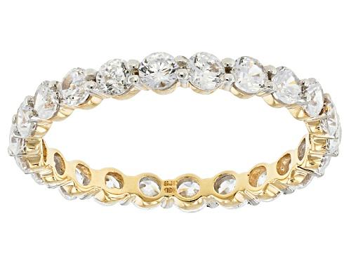 Photo of Bella Luce ® 2.31ctw White Diamond Simulant 10k Yellow Gold Ring (1.32ctw Dew) - Size 5