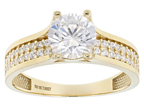 Photo of Bella Luce® 2.63ctw 10k Yellow Gold Ring (1.51ctw DEW) - Size 7