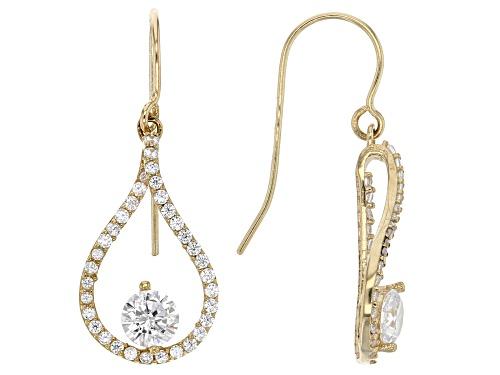 Photo of Bella Luce® 1.47ctw 10k Yellow Gold Earrings (.84ctw DEW)
