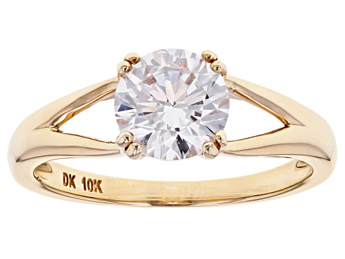 Photo of Bella Luce ® 2.18ctw 10k Yellow Gold Ring (1.28ctw DEW) - Size 11