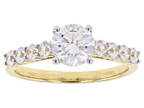 Photo of Bella Luce ® 2.80ctw 10k Yellow Gold Ring (1.51ctw DEW) - Size 8